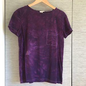 Joie purple silk T-shirt
